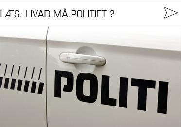 hvad må politiet